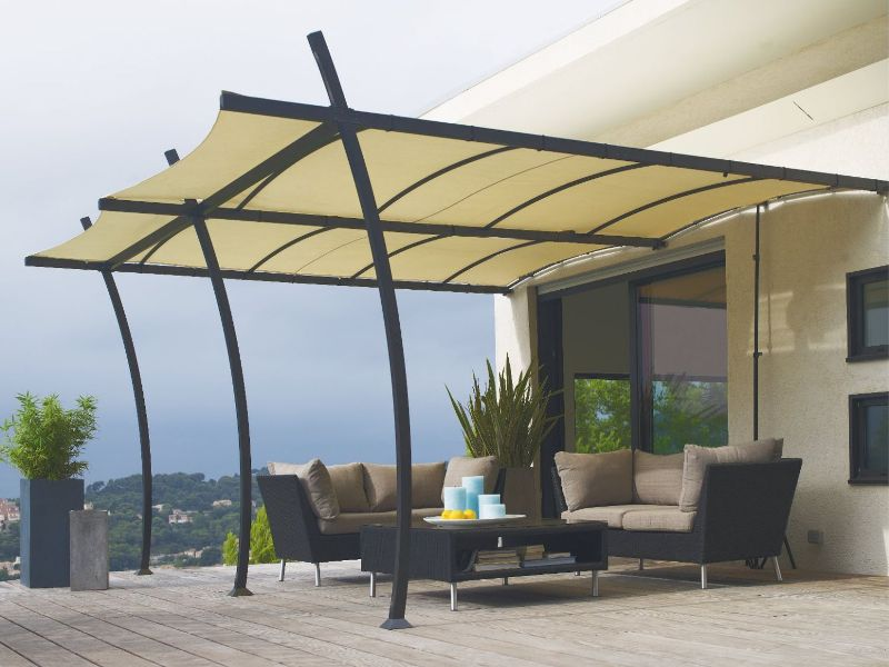 pergola aluminium pas cher. Black Bedroom Furniture Sets. Home Design Ideas